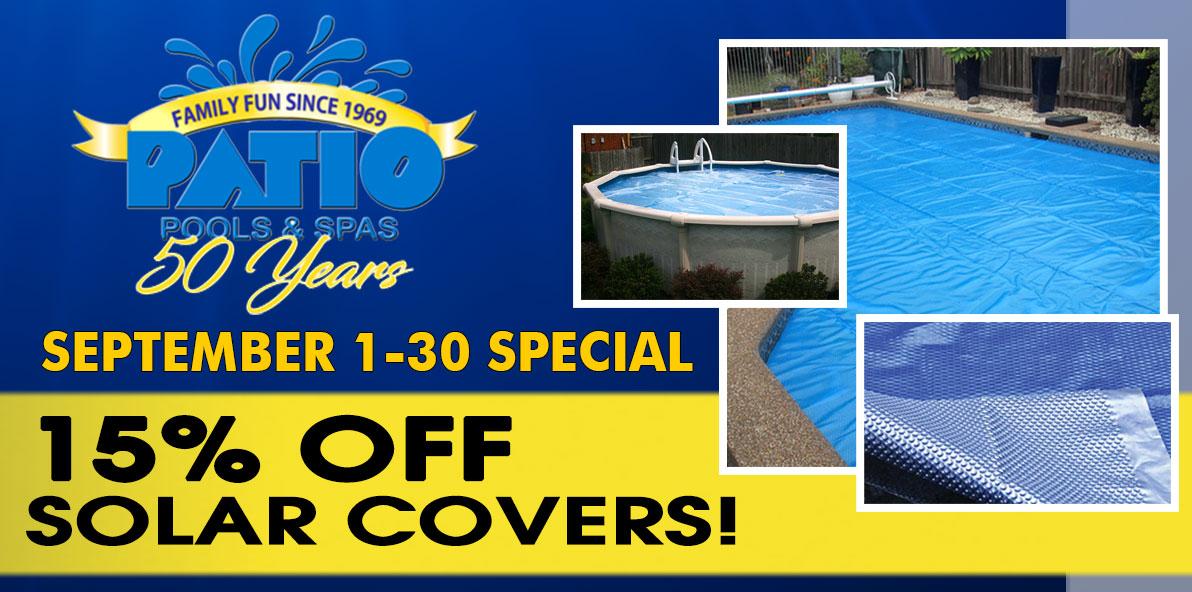 , Patio Pools Specials