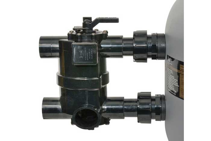 Jandy® 2-in-1 Backwash Valve with NeverLube® Technology