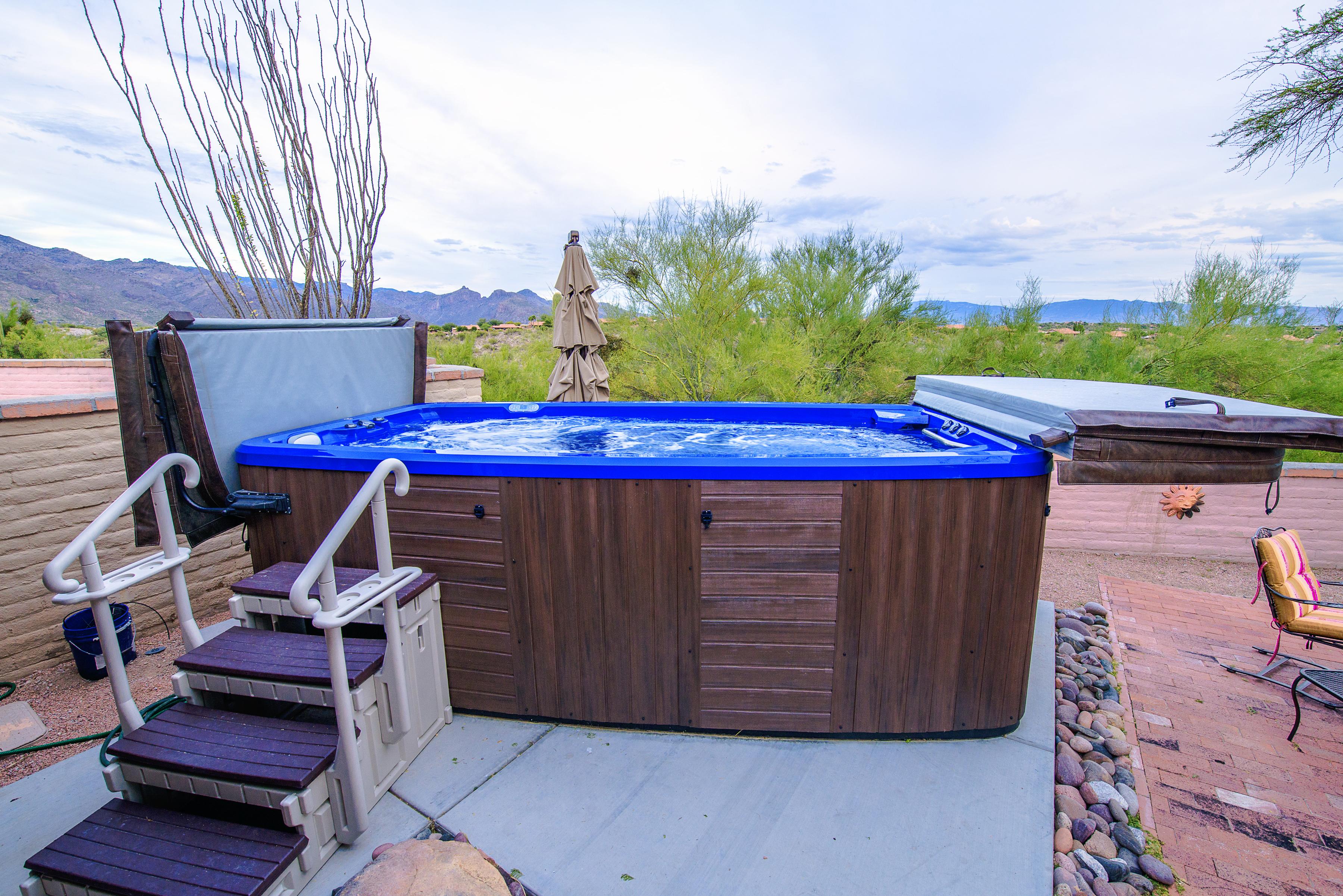 Above Ground Spas Gallery Patio Pools Tucson Arizona
